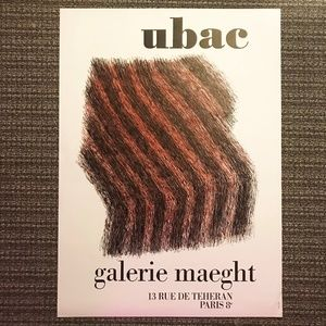 Raoul Ubac Galerie Maeght Art Lithograph Poster
